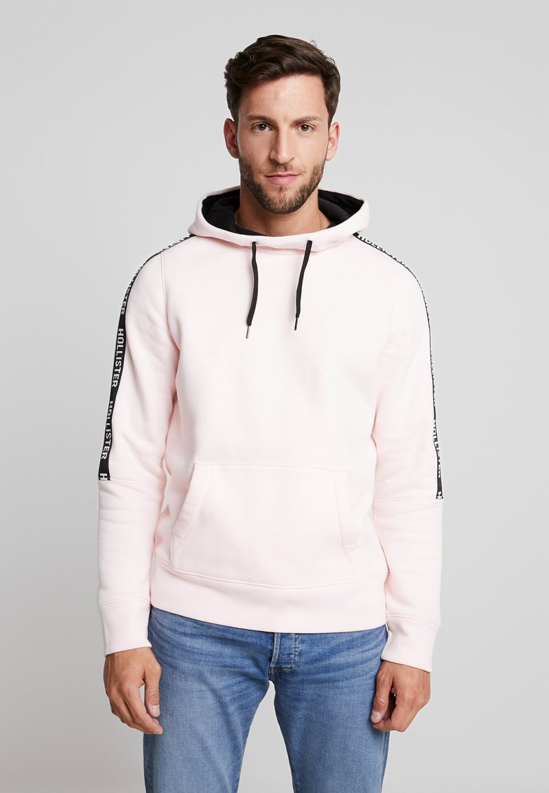 Hollister Co. - LOGO TAPES - Hoodie - light pink