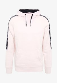Hollister Co. - LOGO TAPES - Sweat à capuche - light pink - 3