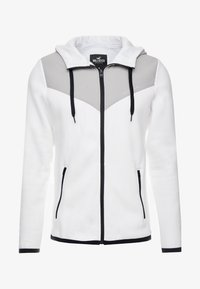 Hollister Co. - TOPPED - Zip-up hoodie - white - 4