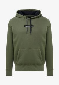 Hollister Co. - XMAS BOX LOGO  - Mikina skapucí - green - 3