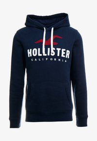 Hollister Co. - TECHNIQUE LOGO  - Mikina s kapucí - navy - 3