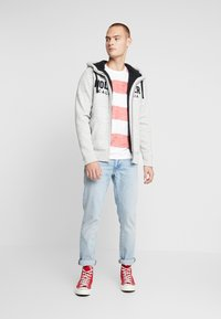 Hollister Co. - Zip-up hoodie - grey - 1