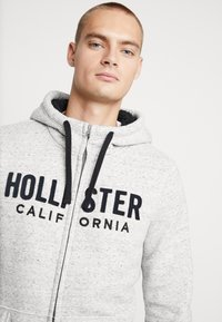 Hollister Co. - Zip-up hoodie - grey - 3