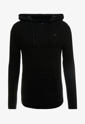 PO HOOD - Bluza z kapturem - black