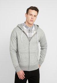 Hollister Co. - GENDERLESS ICON - Zip-up hoodie - grey - 0