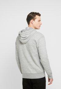 Hollister Co. - GENDERLESS ICON - Zip-up hoodie - grey - 2