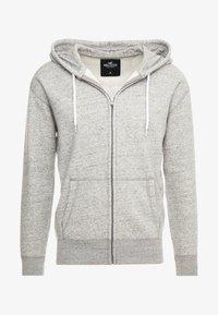 Hollister Co. - GENDERLESS ICON - Zip-up hoodie - grey - 3