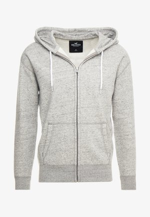 GENDERLESS ICON - veste en sweat zippée - grey