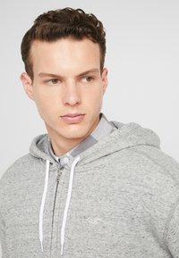 Hollister Co. - GENDERLESS ICON - Zip-up hoodie - grey - 4