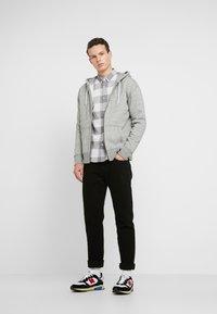 Hollister Co. - GENDERLESS ICON - Zip-up hoodie - grey - 1