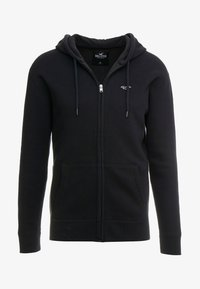 Hollister Co. - GENDERLESS ICON - Mikina na zip - black - 4