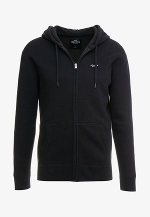 GENDERLESS ICON - Zip-up hoodie - black
