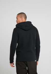 Hollister Co. - GENDERLESS ICON - Zip-up hoodie - black