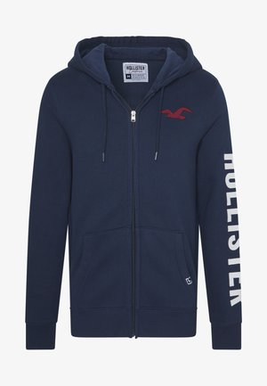 LIVED IN LEGACY LOGO  - Zip-up hoodie - navy