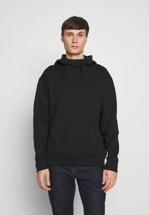 TONAL BOX  - Jersey con capucha - black