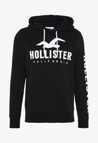 Hollister Co. - TECH LOGO - Mikina skapucí - black - 4