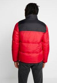 Hollister Co. - PUFFER HOOD  - Winter jacket - red - 3