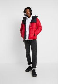 Hollister Co. - PUFFER HOOD  - Winter jacket - red - 1