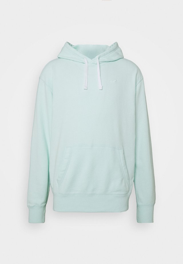 TERRY SOLID - Kapuzenpullover - mint