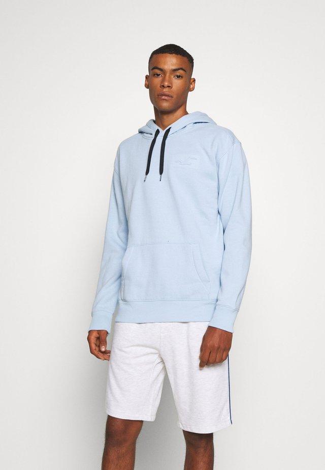 EMBOSSING  - Hoodie - light blue