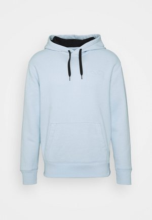 EMBOSSING  - Bluza z kapturem - light blue