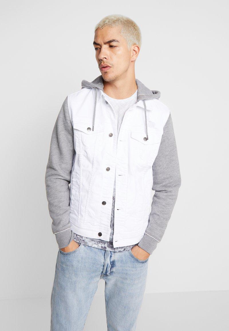 Hollister Co. - TWOFER - Denim jacket - white