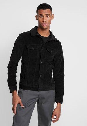 TRUCKER - Džínová bunda - black