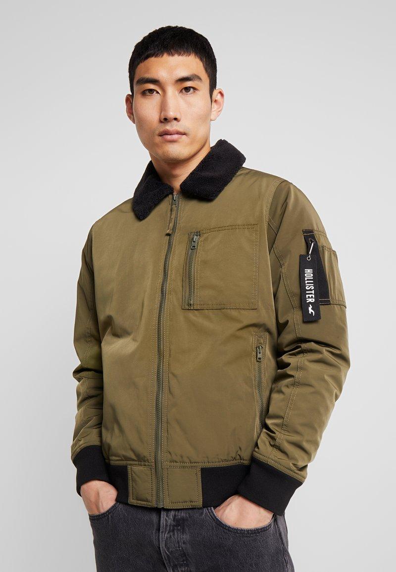 Hollister Co. - Bomber Jacket - olive