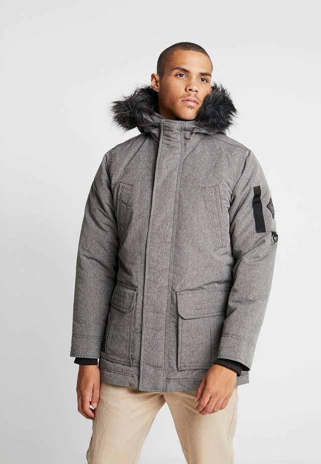 Parkas - cationic grey print