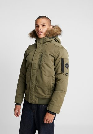 BOMBER EXTENSIONS - Winter jacket - olive