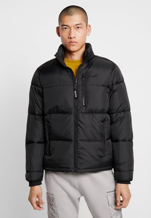 PUFFER MOCK - Winter jacket - black