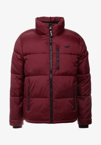 Hollister Co. - PUFFER MOCK BURG - Winter jacket - burgundy - 5