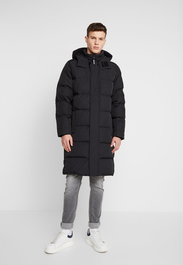LONGER LENGTH PUFFER - Dunkappa / -rock - black