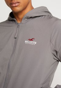 Hollister Co. - Cortaviento - grey - 3