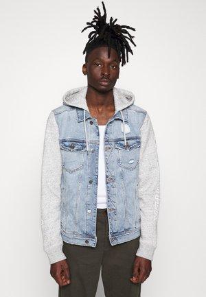 PRINT GRAPHIC TWOFER - Veste en jean - light denim