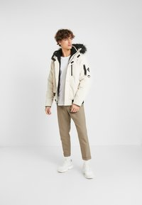 Hollister Co. - Winter jacket - stone - 1