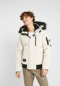 Hollister Co. - Winter jacket - stone - 0
