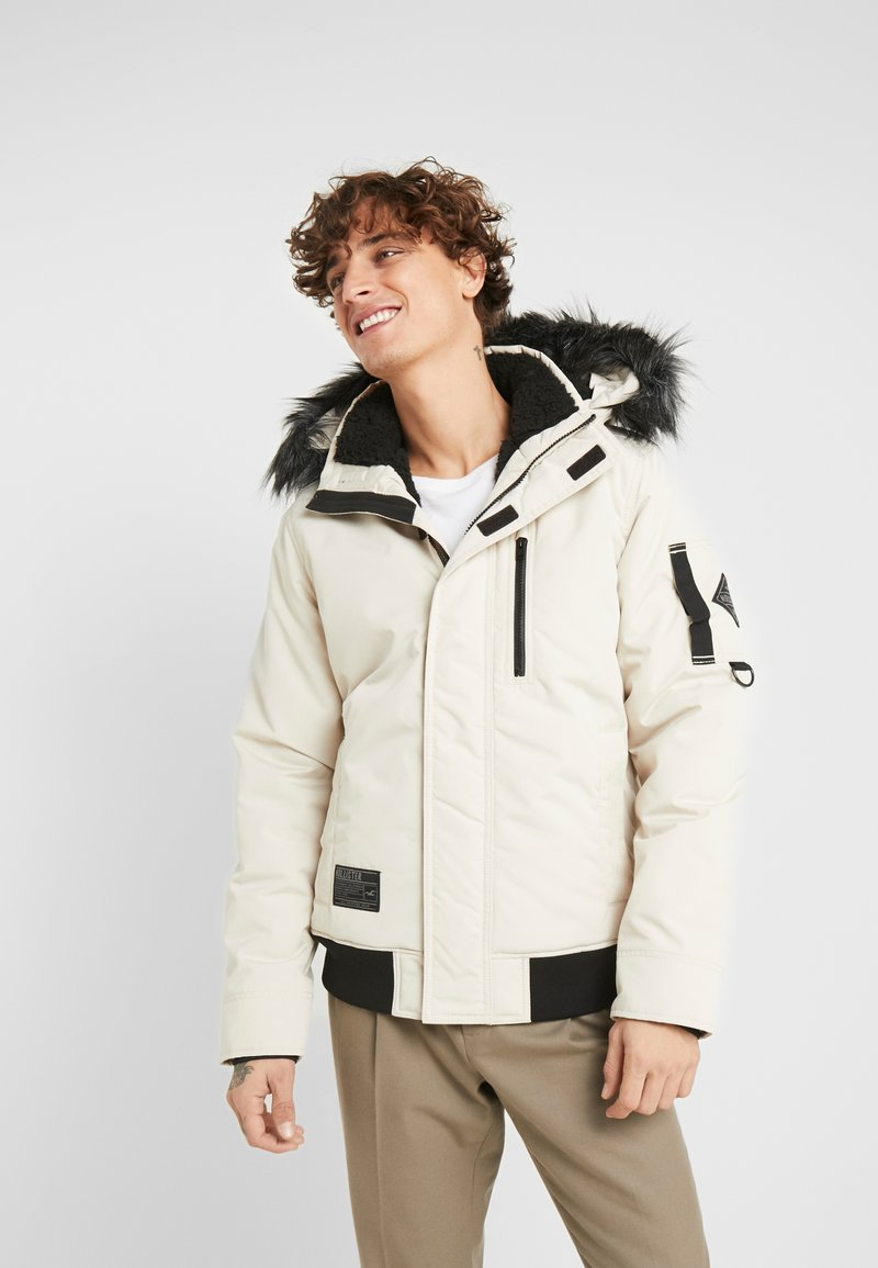 Hollister Co. - Winter jacket - stone