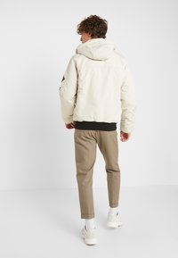 Hollister Co. - Winter jacket - stone - 3