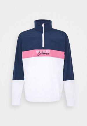 Kurtka wiosenna - navy/pink/white
