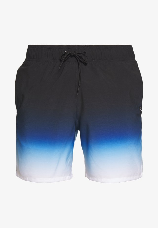 OMBRE GUARD CHAIN - Zwemshorts - black/blue/white