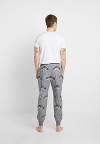 Hollister Co. - JOGGER SLEEP PANT - Pantalón de pijama - grey conversational - 2