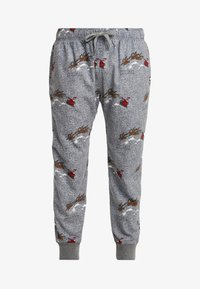 Hollister Co. - JOGGER SLEEP PANT - Pantalón de pijama - grey conversational