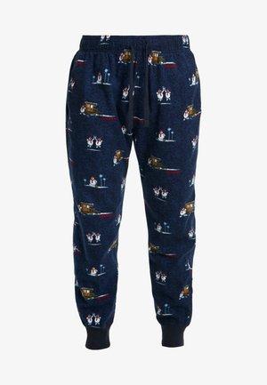 JOGGER SLEEP PANT - Pyjamabroek - navy conversational