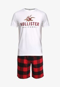 Hollister Co. - SHORT GIFTSET - Pyjama - red/black - 4
