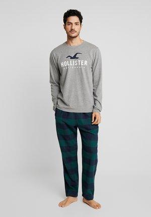 CLASSIC PANT GIFTSET - Pyjamas - green/navy