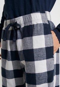 Hollister Co. - CLASSIC PANT GIFTSET - Pijama - navy/grey - 4