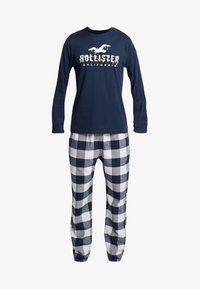 Hollister Co. - CLASSIC PANT GIFTSET - Pijama - navy/grey - 3