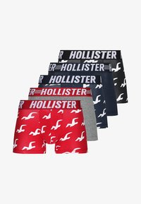 Hollister Co. - 5 PACK - Boxerky - navy/black/grey - 3