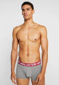 Hollister Co. - PATTERN - Culotte - red/white/grey - 0